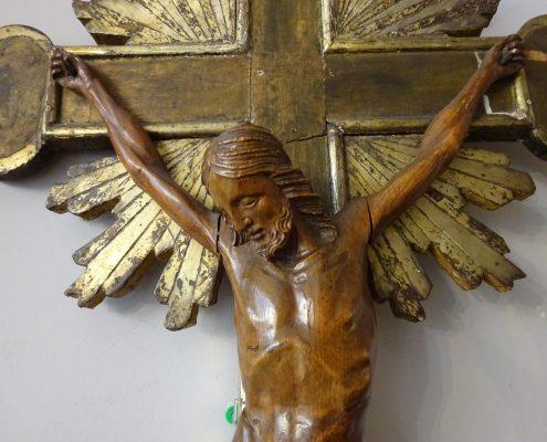 Christ en croix 18ème